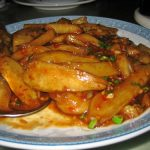 Eggplant in hot garlic sauce