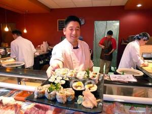 Chef/owner Ryuichi Nakano