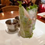 Thoa's soft-shell crab summer rolls