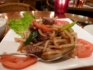 Thoa\'s Vietnamese steak frites