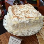 Sachia Tinsley's lemon meringue coconut cake