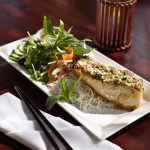 Thoa's: Herbed lime-coconut swordfish