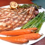 Grilled boneless rainbow trout ($15.95)