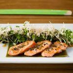 Boom Noodle: Quicklime salmon tataki