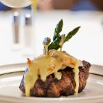 El Gaucho: Grilled certified angus beef filet with lobster medallions and bearnaise sauce