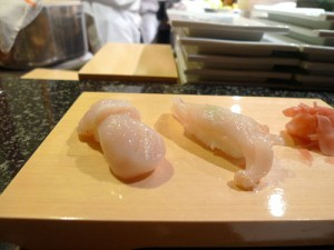 Scallop and geoduck