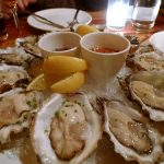 A selection of oysters