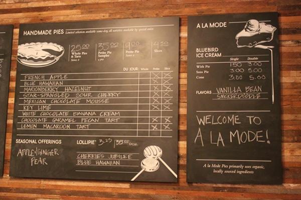 a la mode menu_600
