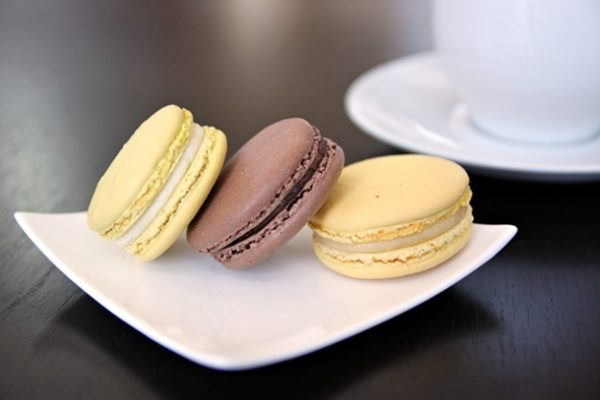 The patisserie offers a daily selection of colorful macarons ($2.25). The smooth shells of the macarons have a firm crunch that yield to a chewy softness upon biting into them. The lemon and caipirinha macarons are lighter with just the right amount of citrus notes, while the chocolate macaron is denser and will definitely appeal to chocolate lovers. Don't get too attached to any particular flavor, though, as they're subject to change day-to-day.