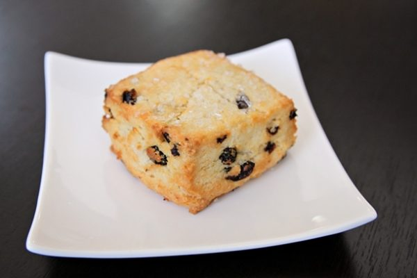 The currant scone ($2.25) is cake-like and kissed with a welcome hint of salt.