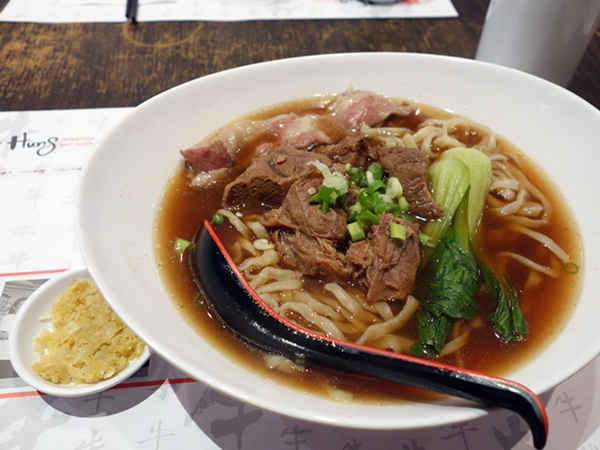The Champion bowl at Chef Hung Taiwanese Beef Noodle