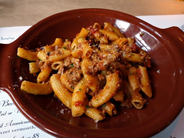 Rigatoni at Cuoco