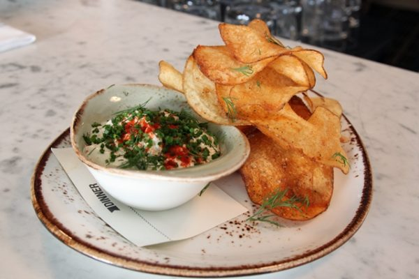 Clam Dip with House-Made Potato Chips