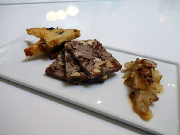 BOKA braised lamb shoulder terrine
