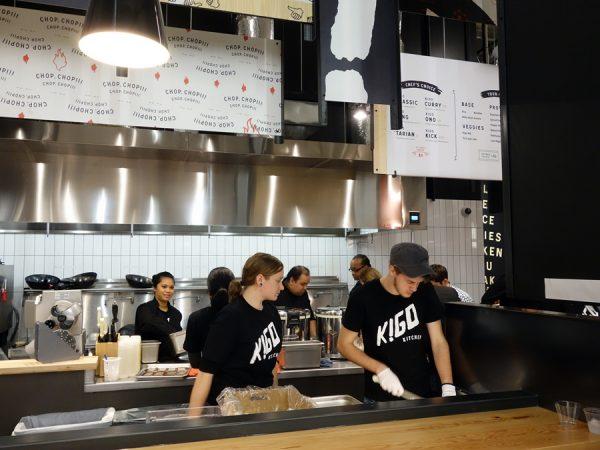 Kigo Kitchen prep