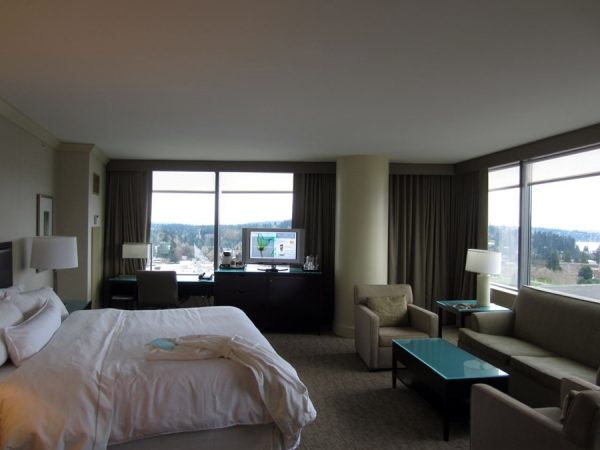 Westin guest room with view