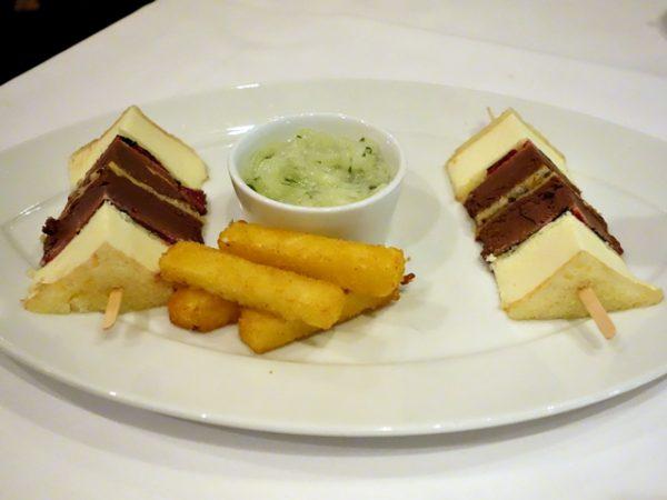 l'Epicier club sandwich