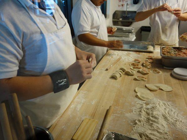 Din Tai Fung dumpling-making