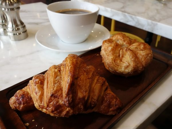 b Patisserie croissant and kouign amann
