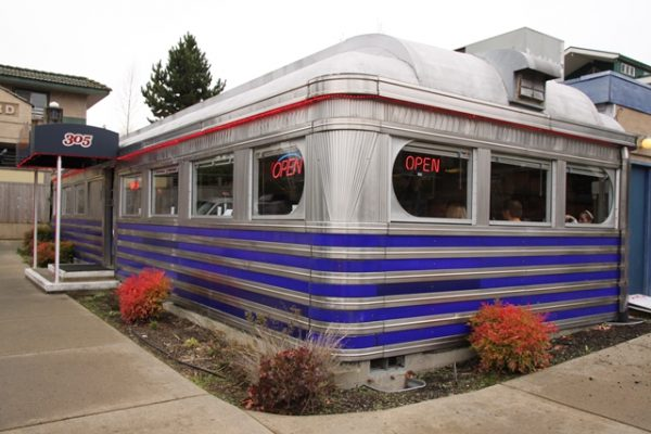 Madison Diner exterior