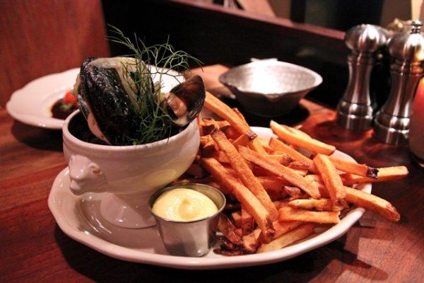 Marché mussels