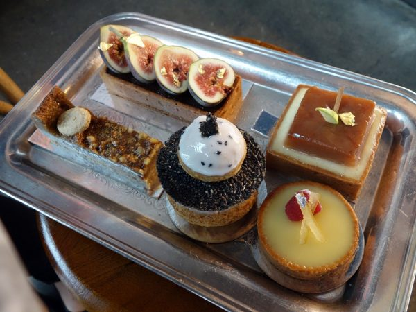 Second tray of treats at Beaucoup Bakery