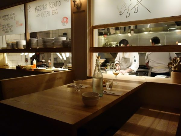 The chef's table is the best seat in the house at PiDGiN