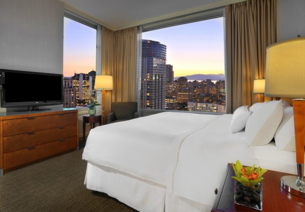 Studio suite at the Westin Grand, Vancouver (photo courtesy of Westin Grand, Vancouver)