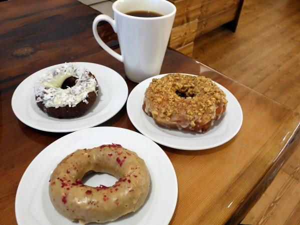 An assortment of donuts at Cartems Donuterie