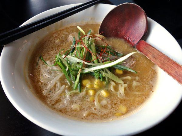4649 Yoroshiku's miso ramen ($9.50)