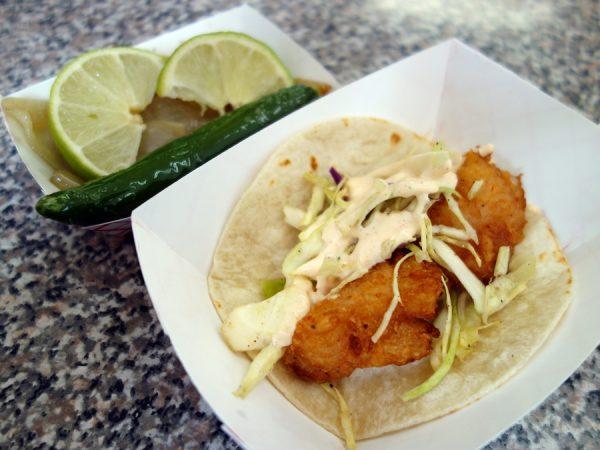 Atoyac fish taco