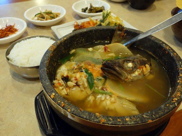 JeonJu Bbop pollock soup