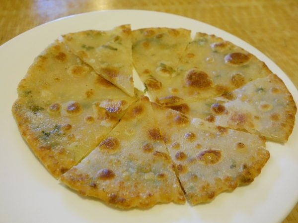 Kung-Ho green onion pancake