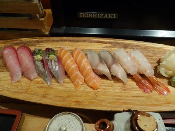 Tsukushinbo sushi