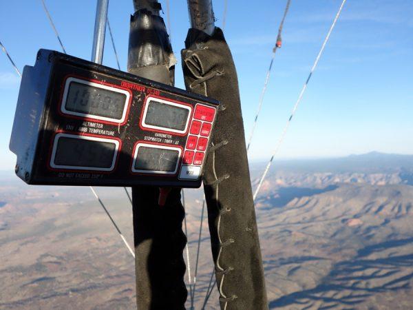 Balloon 10000 feet