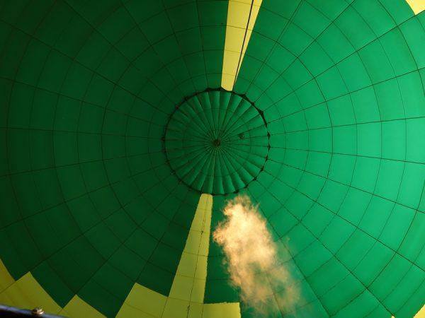 Balloon fire lift