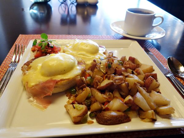 Enchantment breakfast eggs
