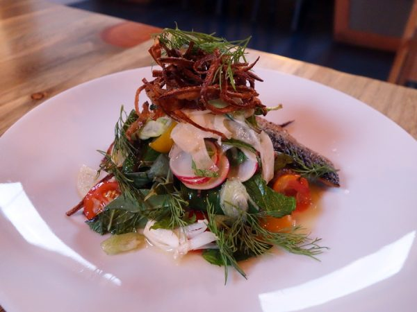RockCreek sardine salad