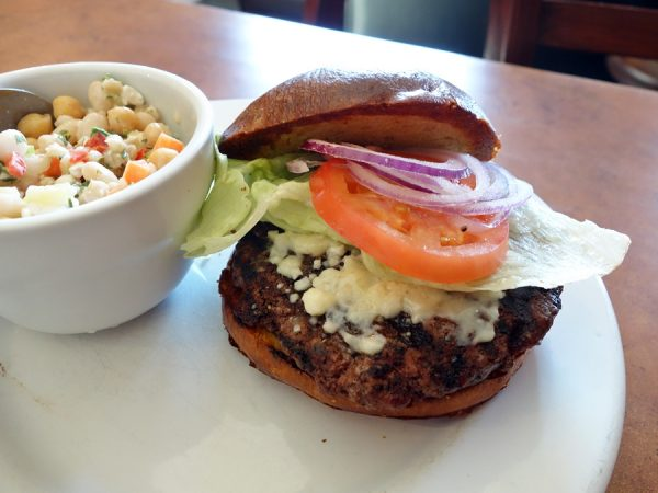Birch & Barley burger open