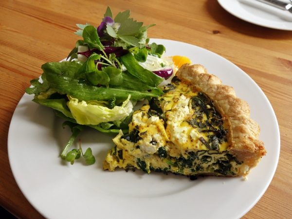 Brasserie Four quiche