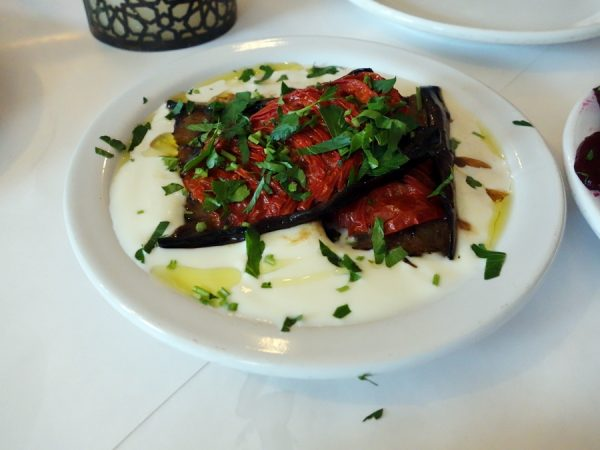 Cafe Munir eggplant