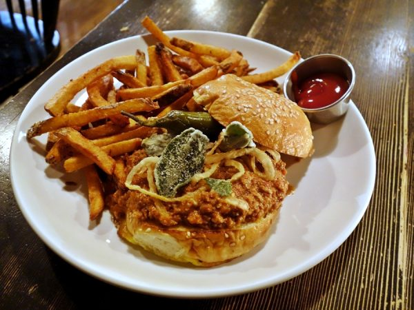 Longman & Eagle wild boar sloppy joe
