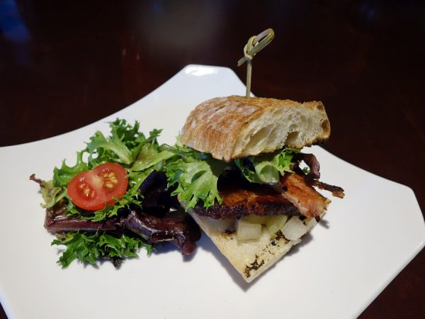 Passerelle pork belly sandwich