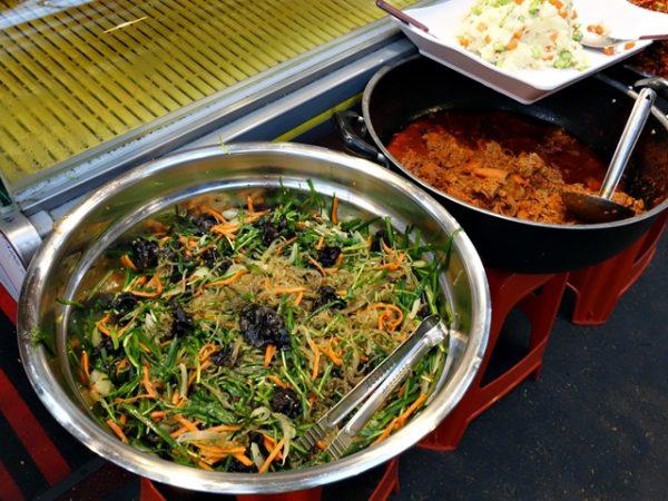 Tongin Market chap chae