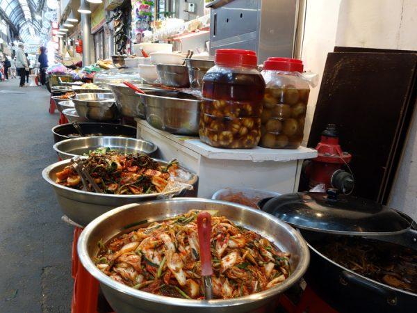 Tongin Market kimchi