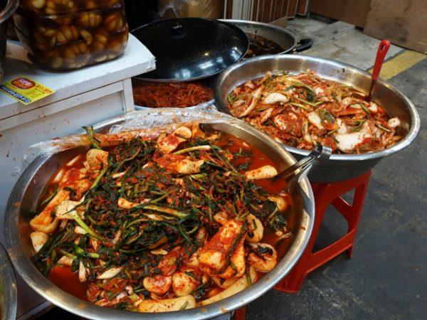 Tongin Market kimchi close