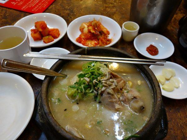 Tosokchon samgyetang ginseng chicken