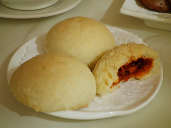 Baked barbecued-pork buns at Empire Seafood
