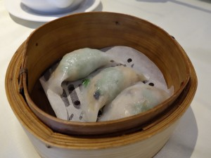 """Steamed dumplings with crab meat and meat"" at Golden Paramount"