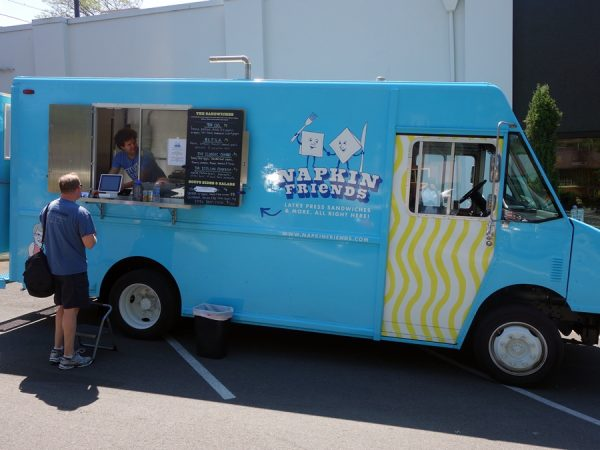 The Napkin Friends food truck